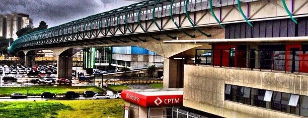 Estação Tamanduateí (Metrô) is one of São Paulo ABC, Bares/Cafés, Restaurantes Shoppings.