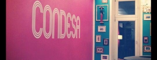 Condesa is one of Bars + Restaurants.