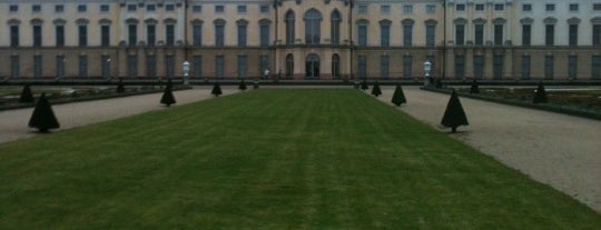 Charlottenburg Palace is one of Berlin, Germany.
