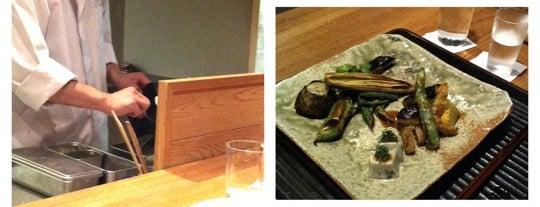 Kajitsu is one of The Platt 101: NYC's Best Restaurants.