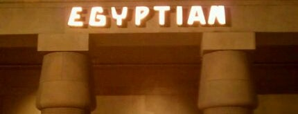 The Egyptian Theatre is one of Los angeles.