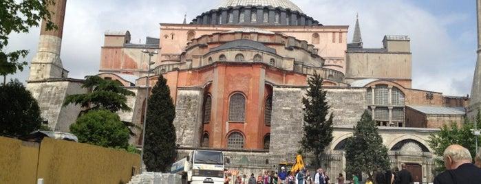 Hagia Sophia is one of Tarih/Kültür (Marmara).