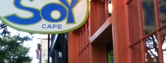 Soy Cafe is one of Philly vegan.