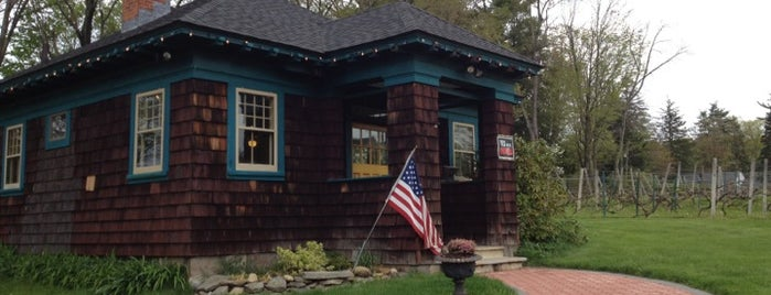 Jerram Winery is one of Connecticut Farm Wineries 2012 Passport.