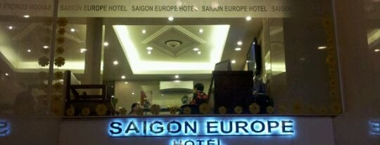 Saigon Europe Hotel is one of Airports & Hotels.