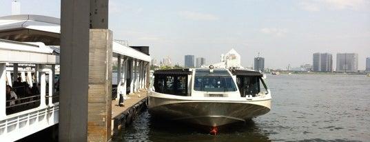 日の出桟橋 水上バス乗り場 is one of lieu a Tokyo 2.