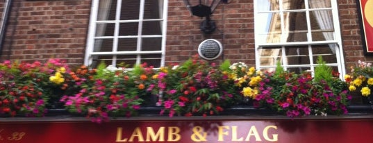 Lamb & Flag is one of London.