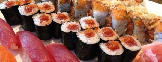 Wakame Sushi & Asian Bistro is one of The 15 Best Places for a Seafood in Minneapolis.