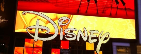 Disney Store is one of Coffee Places NYC.