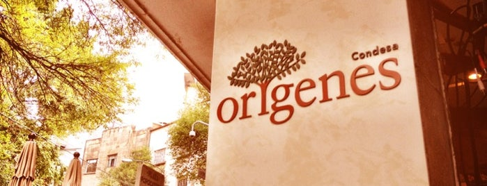 Orígenes is one of Restaurantes.