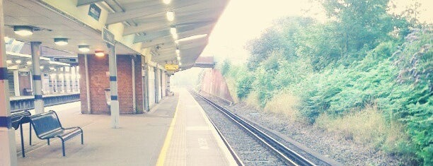 St Mary Cray Railway Station (SMY) is one of Train stations.