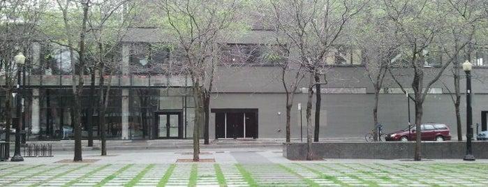 Place de la Paix is one of Quartier des Spectacles.