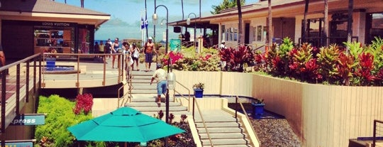 Whalers Village is one of Maui, PlumeriaGirl style.