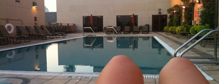 Hilton Austin - Spa & Fitness Center is one of Airports and hotels I have known.