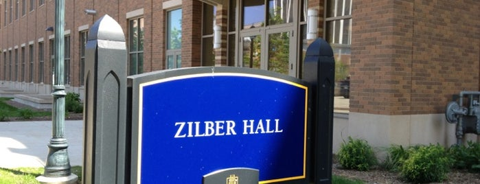 Zilber Hall is one of Be The Difference (Marquette University).