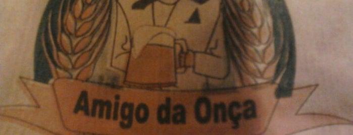Galeteria Amigo da Onça is one of Veja Comer & Beber ABC - 2012/2013 - Bares.