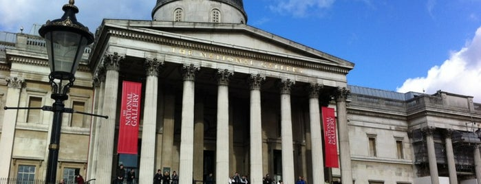 National Gallery is one of London, baby!.