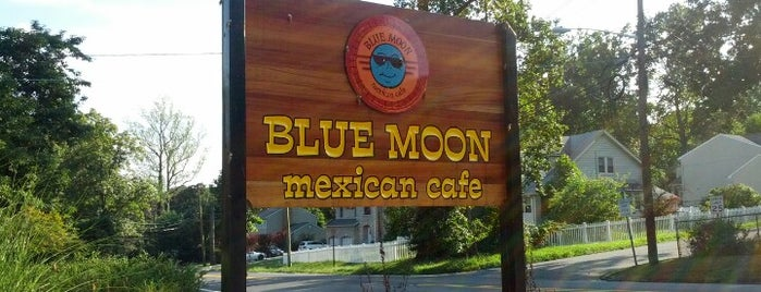Blue Moon Mexican Cafe is one of Pascack Eats.