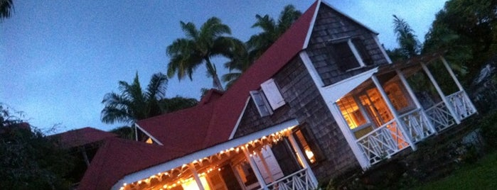 The Hermitage Hotel Nevis is one of Bucket List Places.