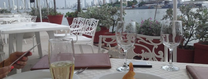 Restaurante  Club de Pesca is one of Cartagena, Colômbia.