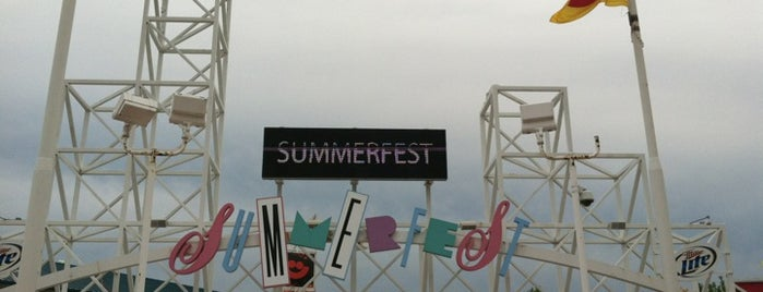 Summerfest North Gate is one of The 15 Best Music Venues in Milwaukee.
