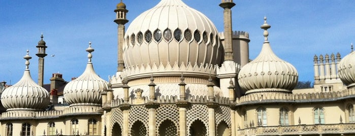 The Royal Pavilion is one of Brighton.