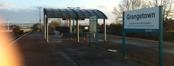 Grangetown Railway Station (GTN) is one of Railway stations I've been to.