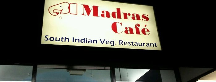 Madras Cafe is one of Nor Cal Destinations.