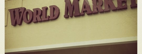 World Market is one of JAX , FL.