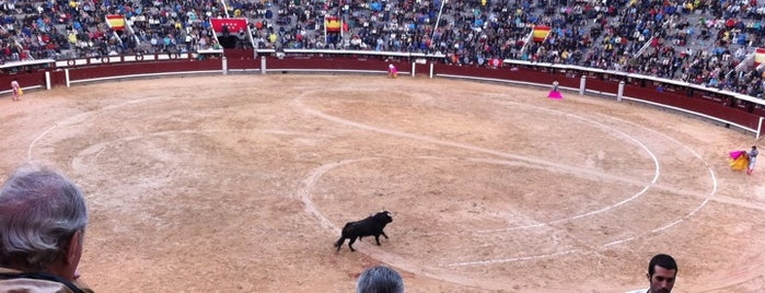Plaza de Toros de Las Ventas is one of Dieter's favourite spots in Madrid.
