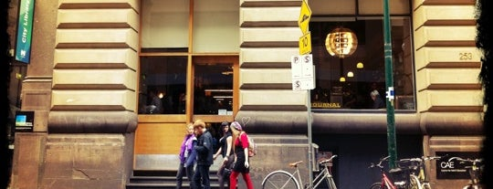 Journal Cafe is one of The Fine Food of Melbourne City.