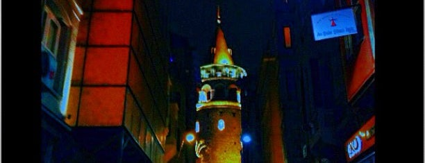 Galata Tower is one of Bosphorus Badge.