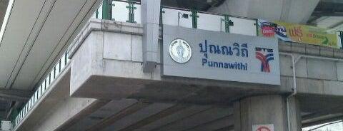 BTS Punnawithi (E11) is one of BTS Station - Sukhumvit Line.