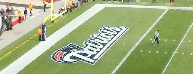 Gillette Stadium is one of Great Sport Locations Across United States.