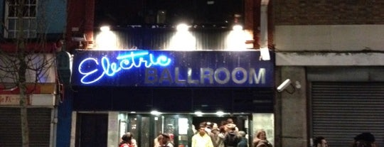 Electric Ballroom is one of Random places I love in London..