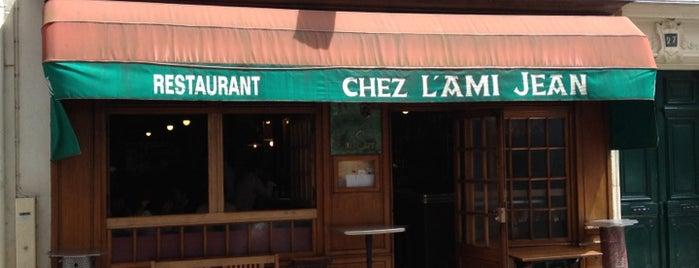 L'Ami Jean is one of Paris Restaurants, Brasseries, Bistrots.