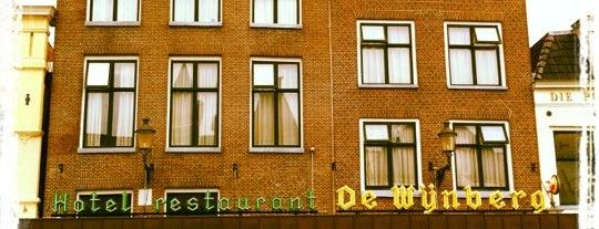 Hotel de Wijnberg is one of Eetgelegenheden in Sneek.