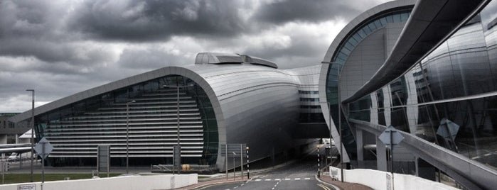 Dublin Airport (DUB) is one of Airports.