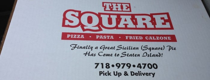 The Square is one of Pizza-To-Do List.