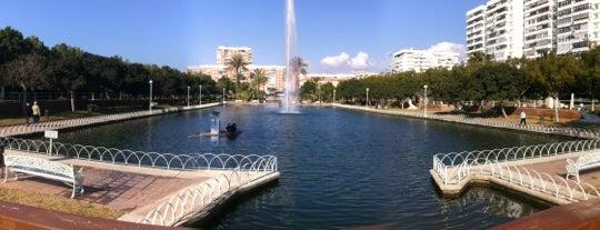 Parque del Oeste is one of Sitios favoritos de Málaga.