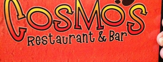 Cosmo's Restaurant and Bar is one of Favorite Restaurants.