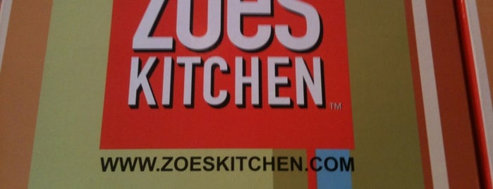 Zoës Kitchen is one of Places to Eat.