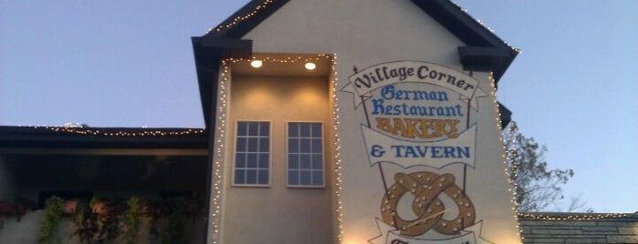 The Village Corner German Restaurant & Tavern is one of places.