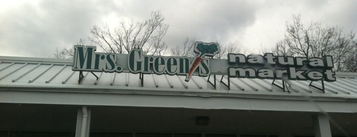 Mrs. Green's Mount Kisco is one of Mrs. Green's Natural Market.