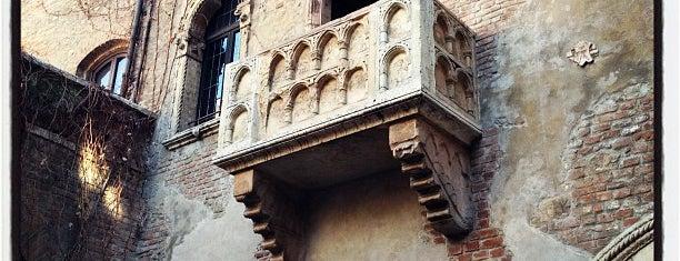 Casa di Giulietta is one of Verona.