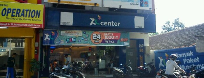 PT. XL Axiata Tbk. is one of Guide to Mataram's best spots.