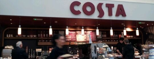 Costa Coffee is one of Coffee shops I've been to.