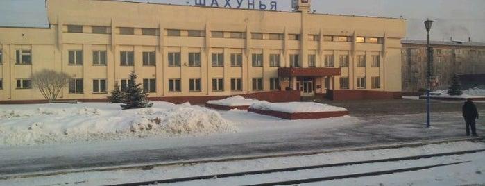 Ж/Д вокзал Шахунья is one of Транссибирская магистраль.