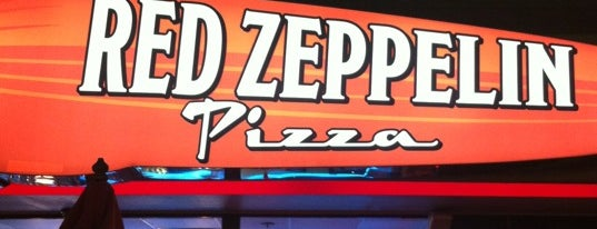 Red Zeppelin Pizza is one of BR eats.