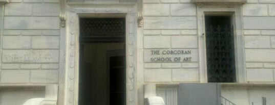 Corcoran School of the Arts & Design at GW is one of ♡DC.